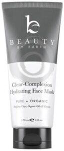yağlı ciltler için organik nemlendirici kil maskesi