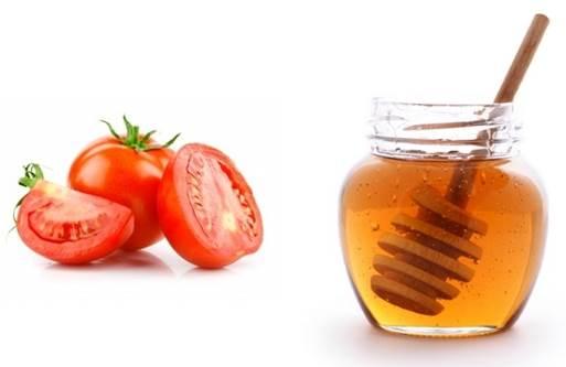 domates ve bal ile gözenek sıkılaştırıcı tarifi