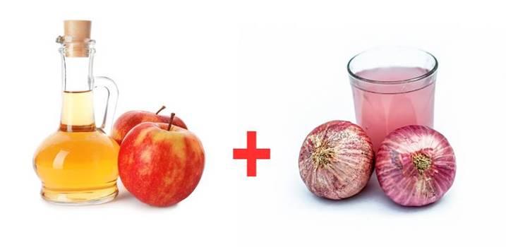 Yaşlılık lekeleri için soğan suyu ve elma sirkesi tarifi ve kullanımı