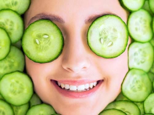 göze salatalık uygulama