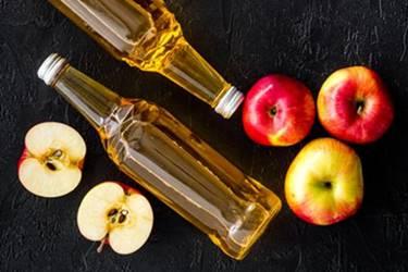 elma sirkesiyle ölü deriyi soyma