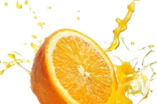 siyah nokta maskesi için jelatin ve portakal suyu karışımı ile maske yapımı